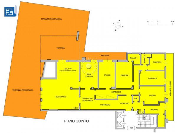 Appartamento in vendita a Firenze, 270 mq - Foto 4