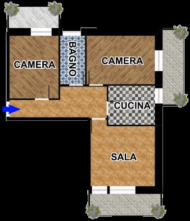 Appartamento in vendita a Cogorno, San Salvatore, 88 mq
